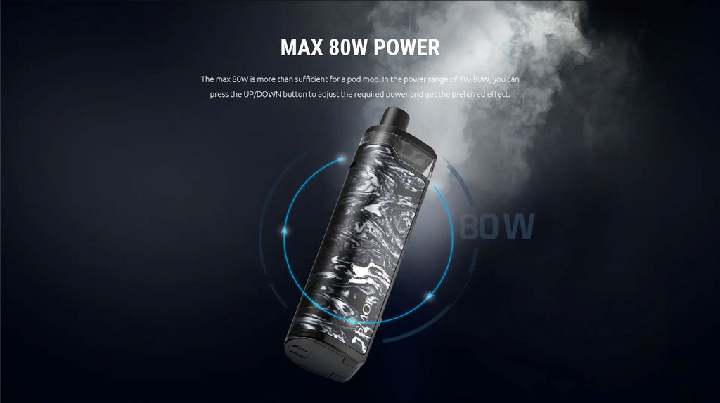 Smok RPM80 Pro Pod System VW Starter Kit Max 80W Power Output