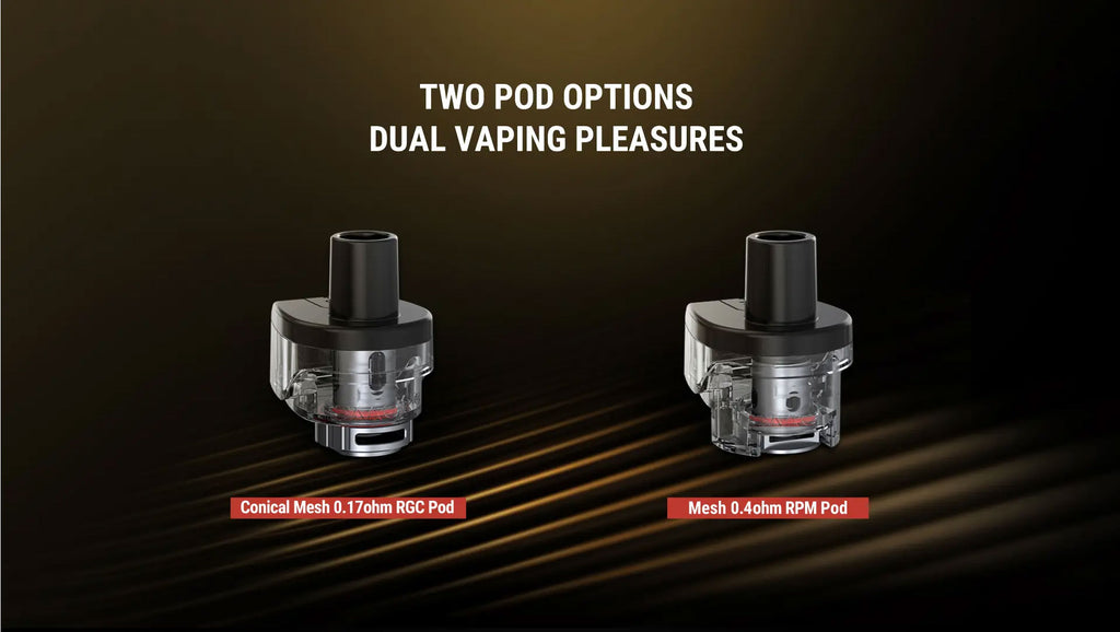 Smok RPM80 Pro Pod System VW Starter Kit 80W 5ml Two Pod Options Dual Vaping Pleasures