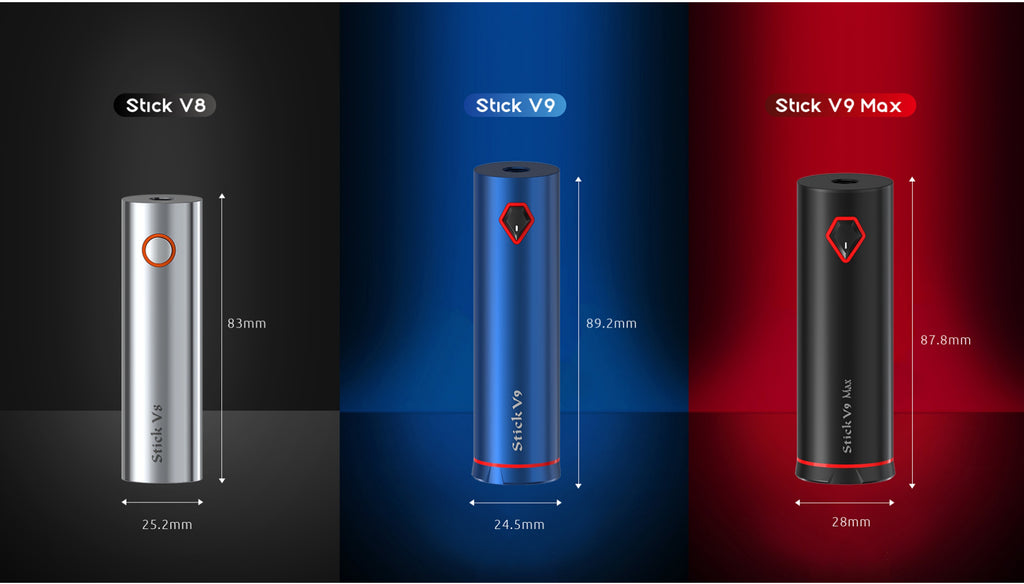 Smok Stick V9 Vape Pen Kit Size