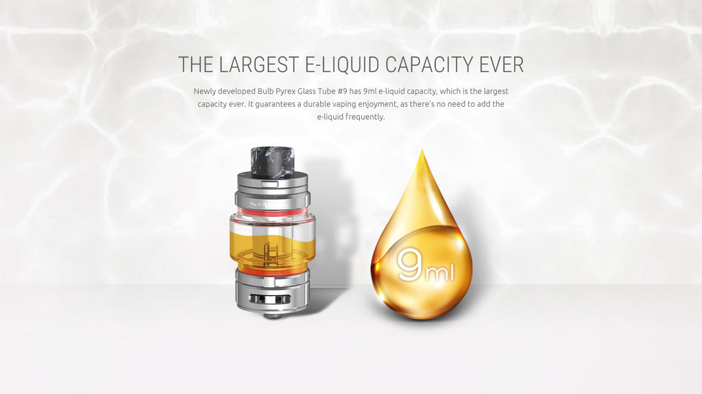 The largest ijk Capacity ever - Smok TFV16 Tank 9ml US Standard Edition