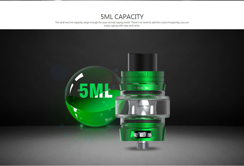Smok TFV8 Baby V2 Tank 5ml Capatity