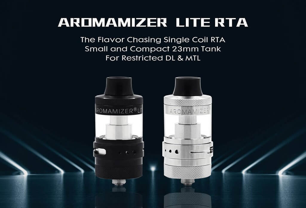 Steam Crave Aromamizer Lite RTA 23mm