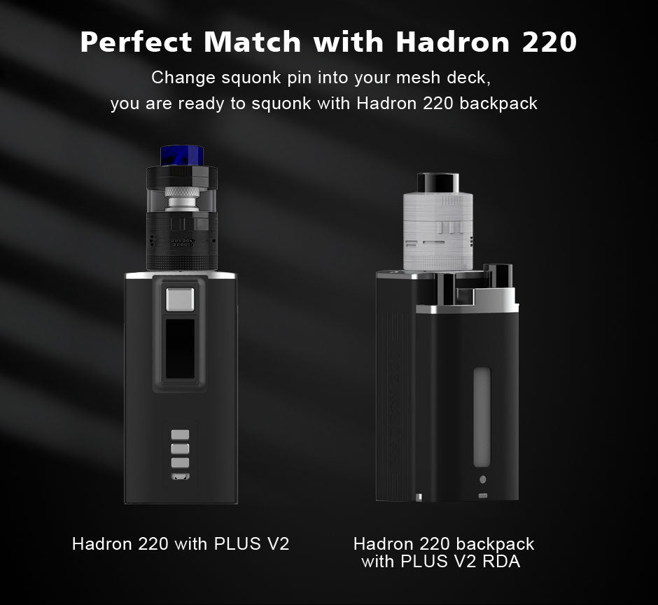 Perfect Match With Hadron 220