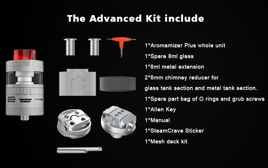 The Advanced Kit Include