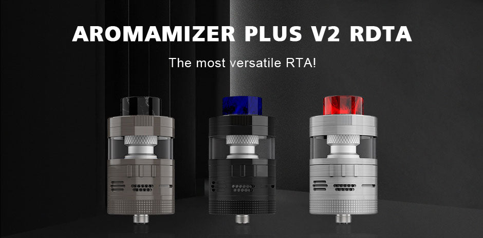 Steam Crave Aromamizer Plus V2 RDTA 30mm 3 Colors Optional