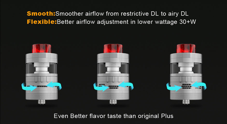 Steam Crave Aromamizer Plus V2 RDTA 30mm Airflow System
