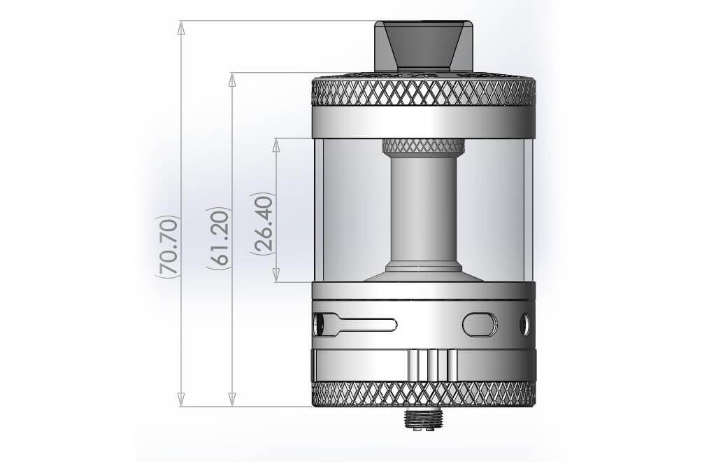 Steam Crave Aromamizer Titan RDTA 28ML Size