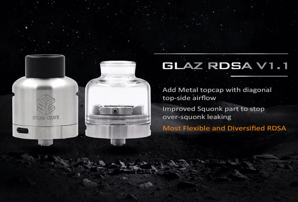 Steam Crave Glaz RDSA V1.1 Diameter 30mm