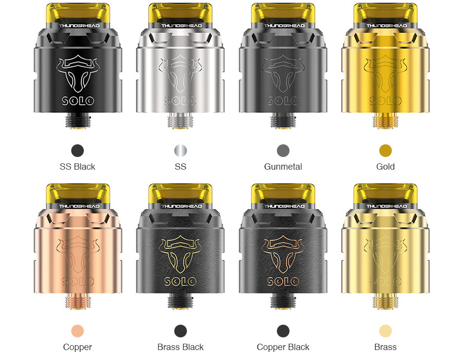 Thunderhead Creations Tauren Solo RDA Colors Available