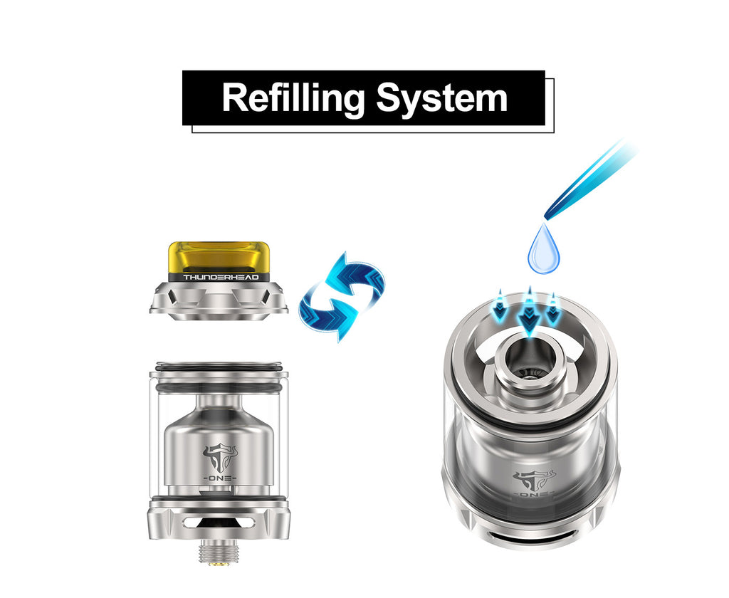 Thunderhead Creations Tauren ONE RTA 4.5ml Refilling System