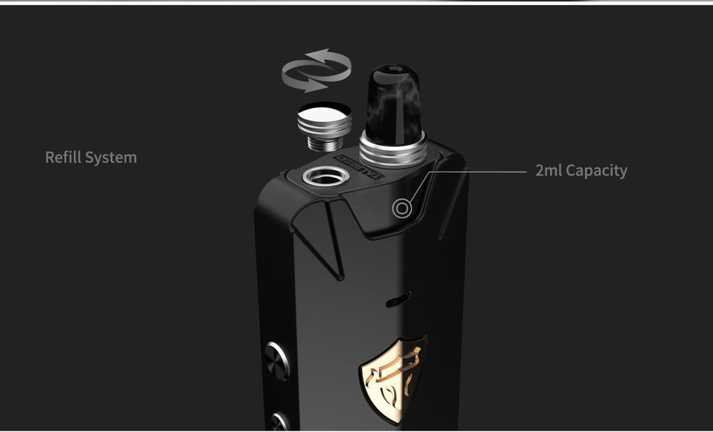 Thunderhead Creations Tauren X 2ml Vape Pod Cartridge Refill System