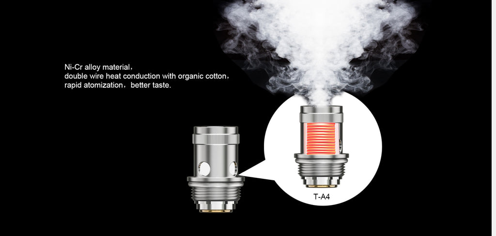 Teslacigs Arktos Tank for T40W VW Mod Kit 1.8ml 24mm Coil Head