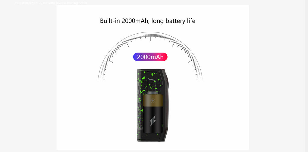Teslacigs Falcons 2000mAh Battery