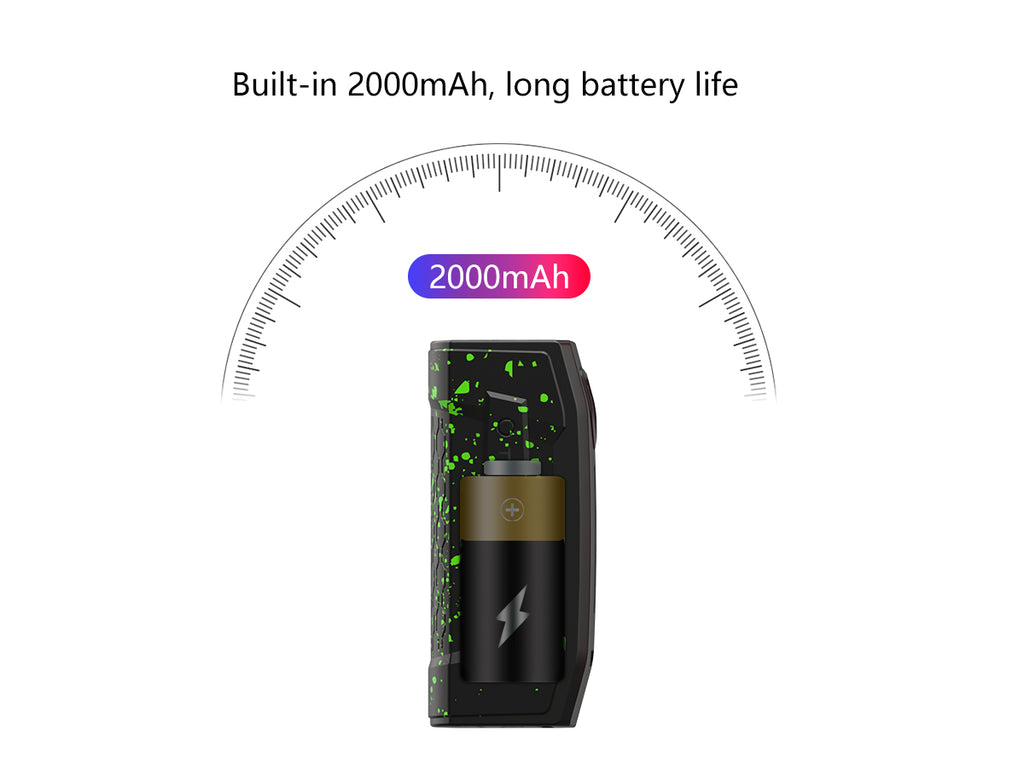 Teslacigs Falcons Pod System Starter Kit with One Tank 2000mAh Battery