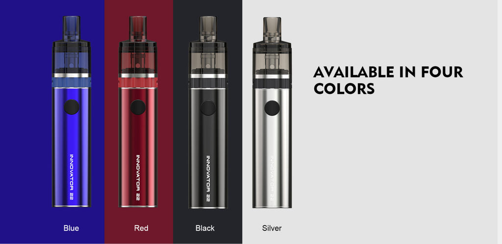 Teslacigs Innovator 22 Vape Pod System 1100mAh 4 Colors Available