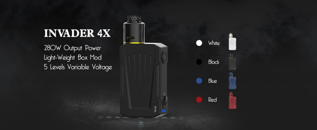 Teslacigs Invader 4X Kit Specifications