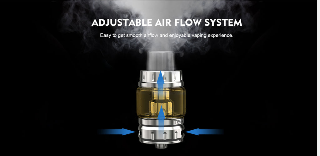 Teslacigs Shinyo 4.5ml Tind Tank Adjustable Airflow System
