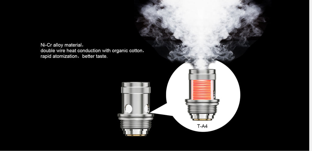 Teslacigs T40W VW Mod Kit 2000mAh 1.8ml Coil Head