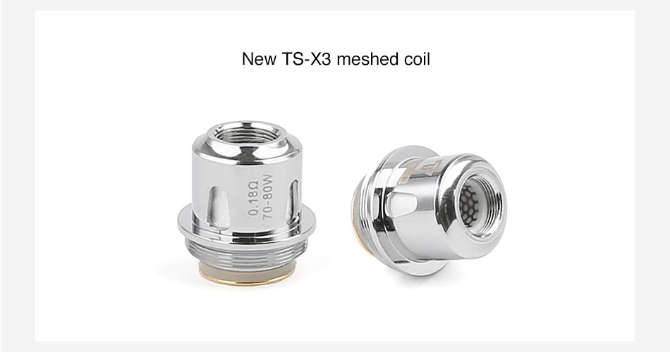 Teslacigs Tind Tank Meshed Coil