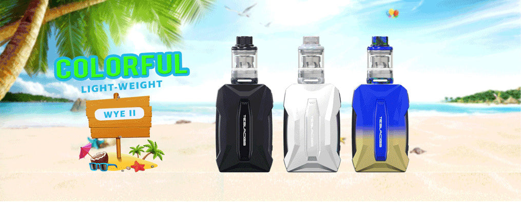 Teslacigs WYE II 215W KIT 3 Colors Available