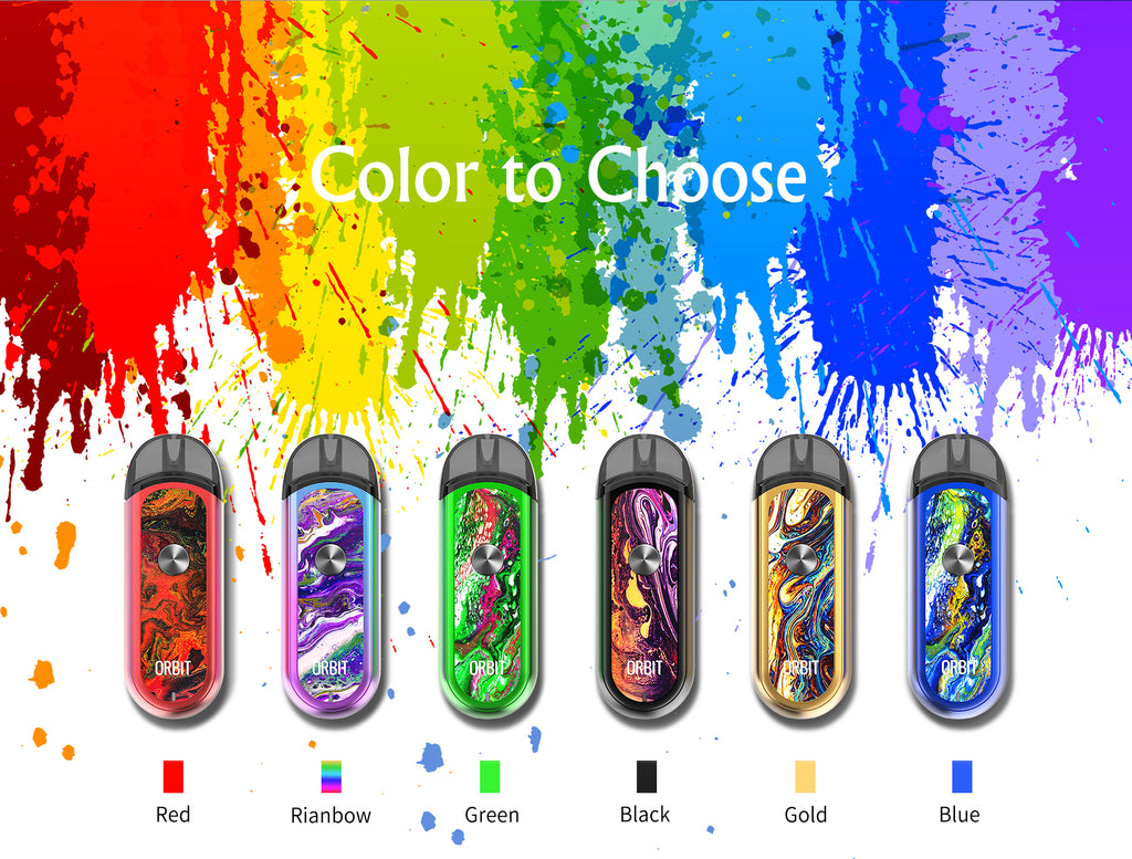 Think Vape Orbit Vape Pod System Color Available