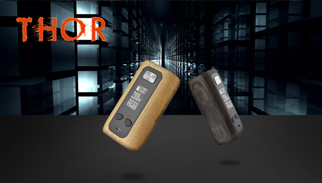 Think Vape Thor TC Box Mod 200W Wood Grain Version