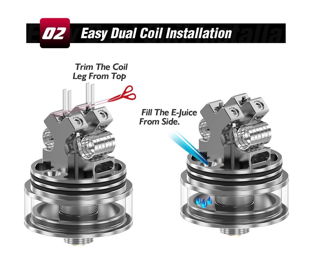 Easy Dual Coil Installation