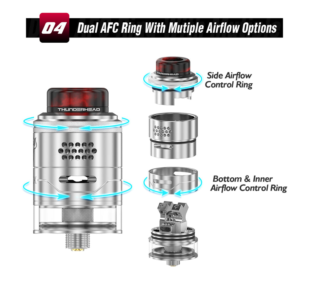 Dual AFC Ring With Mutiple Airflow Options
