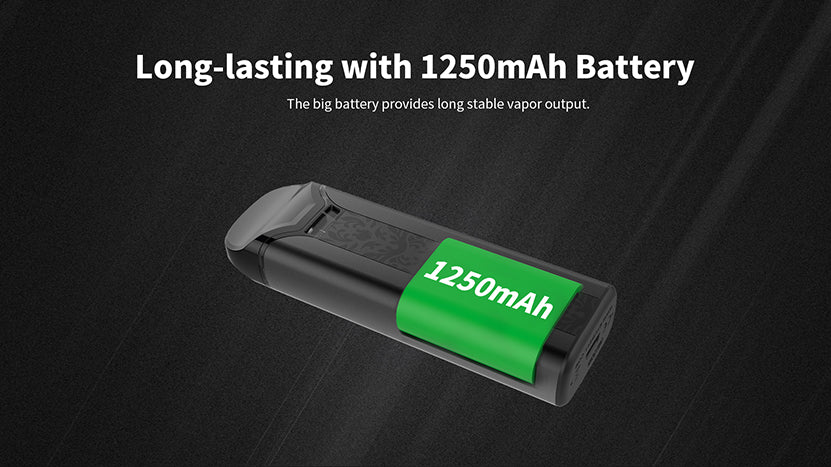Uwell Crown Pod System Starter Kit 1250mAh Battery