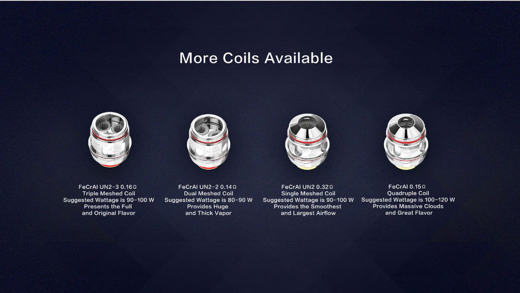 Uwell Valyrian 2 Tank Coils Available