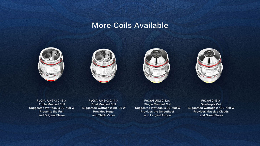 Uwell Valyrian ï½?Sub Ohm Tank 6ml 4 Coils Available