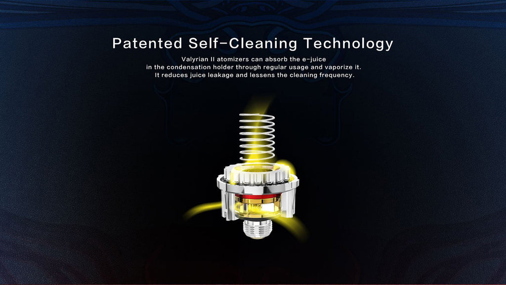 Patented Self-Cleaning Technology
