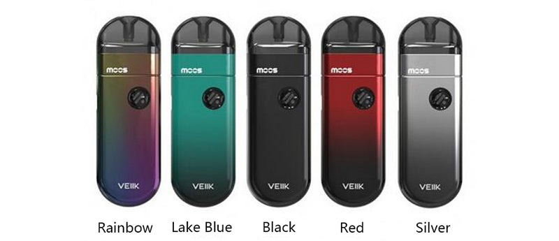 VEIIK MOOS Vape Pod System Starter Kit 1100mAh 2ml 5 Colors Available