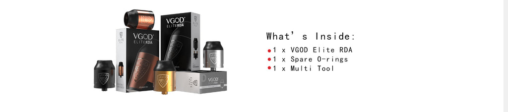 VGOD Elite RDA Package Inside