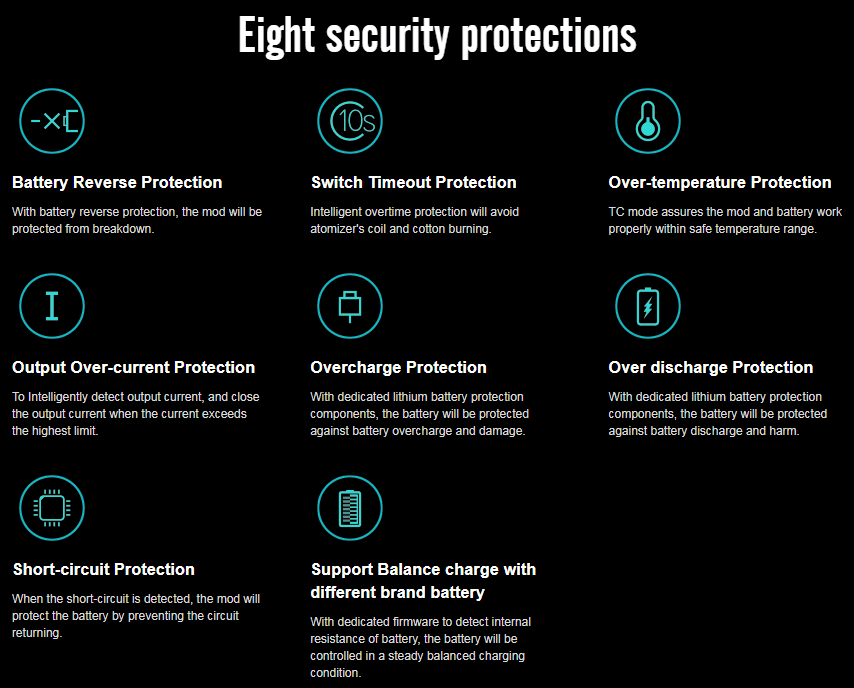 Eight Security Protections