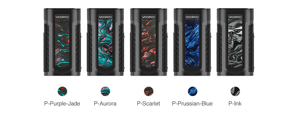 VOOPOO X217 TC Mod 217W Colors Available