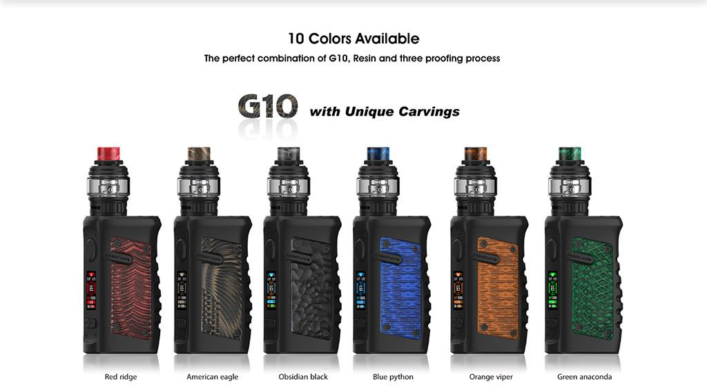 Vandy Vape Jackaroo TC Mod Kit 10 Colors Available