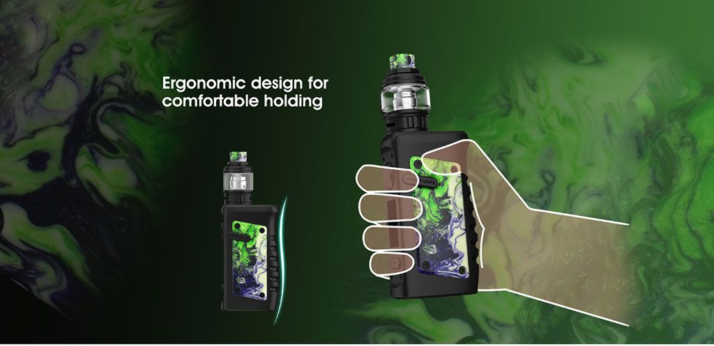 Vandy Vape Jackaroo TC Mod Kit Ergonomic Design For Comfortable Holding