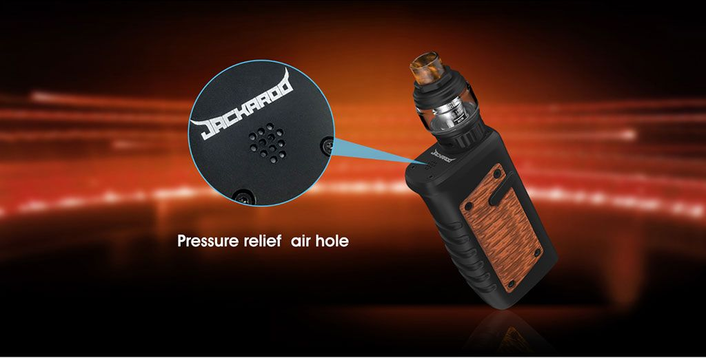 Vandy Vape Jackaroo TC Mod Kit Pressure Relief Air Hole