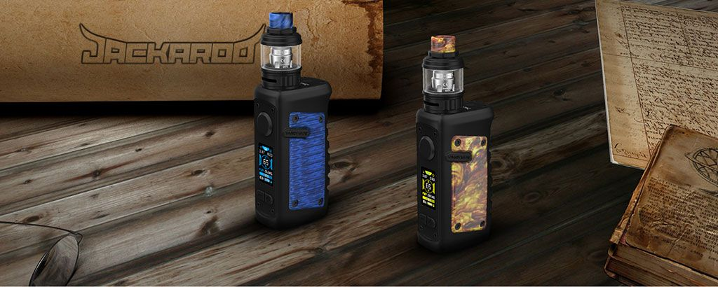 Vandy Vape Jackaroo TC Mod Kit Real Shots