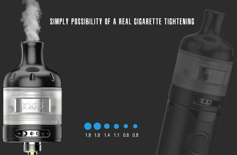 Vandy Vape Berserker S AIO Kit Simplay Possibility Of A Real Cigarette Tightening