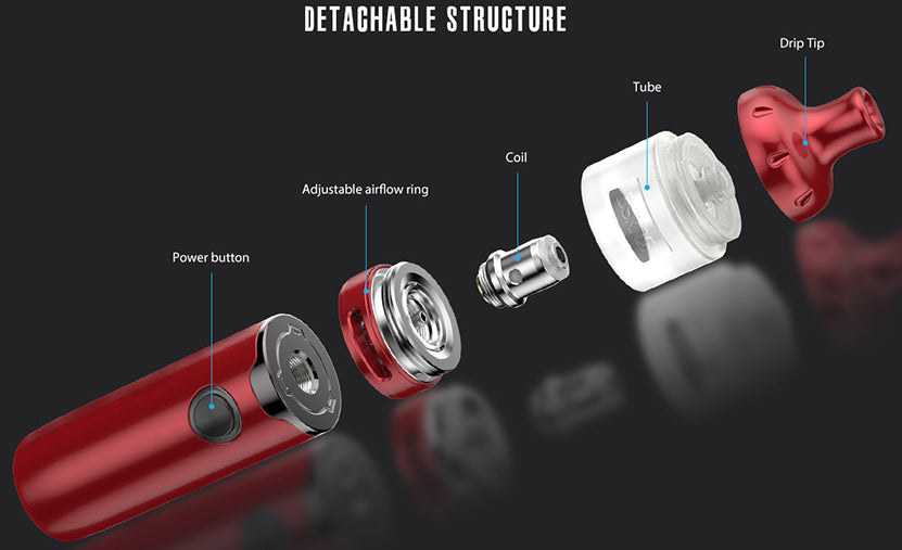 Vandy Vape Berserker S AIO Kit Detachable Structure