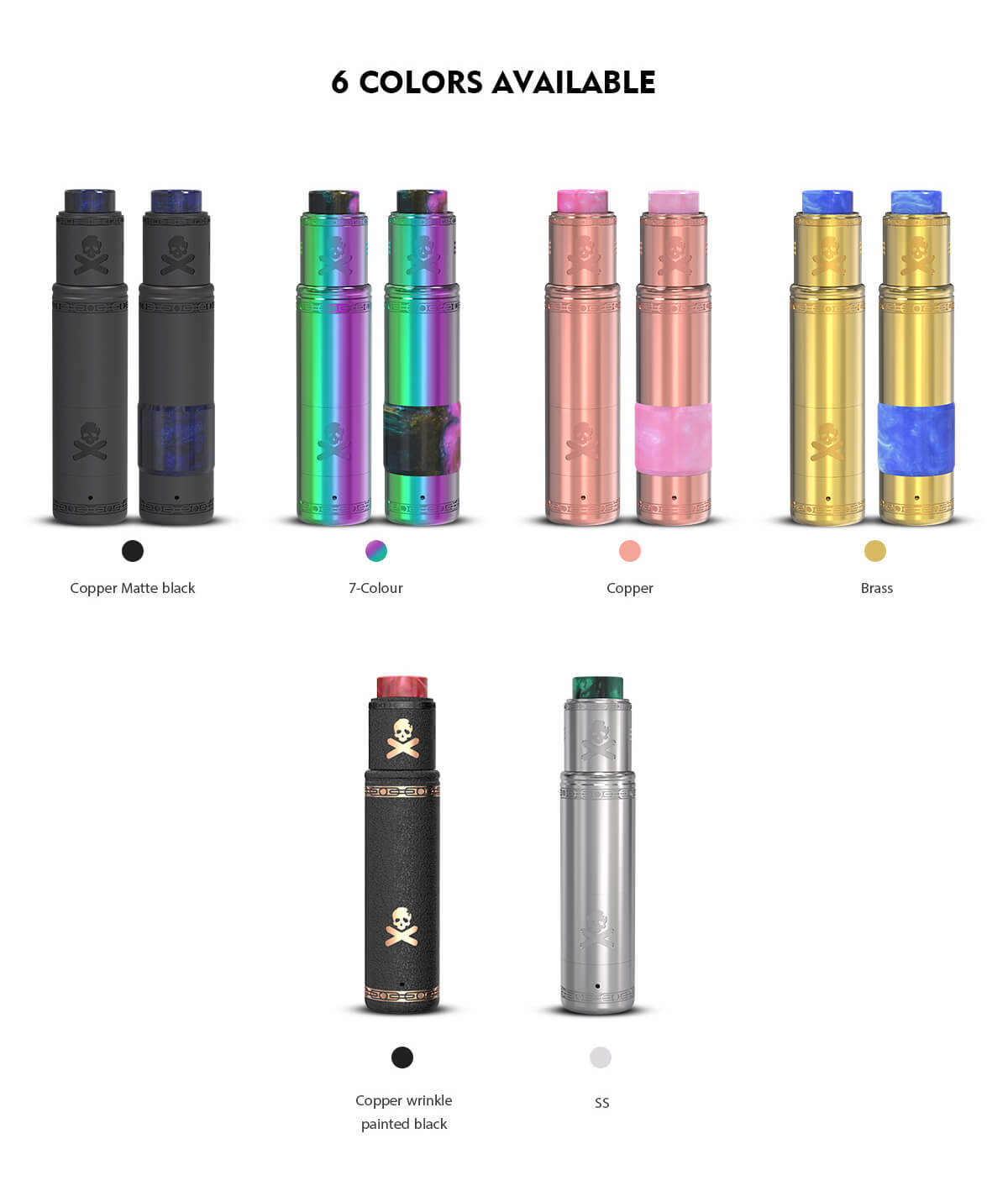 Vandy Vape Bonza Mechanical Mod Kit Six Colors Available
