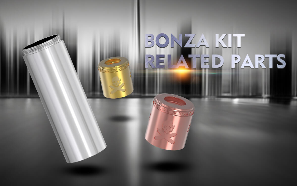Vandy Vape Bonza Mechanical Mod Kit Related Parts