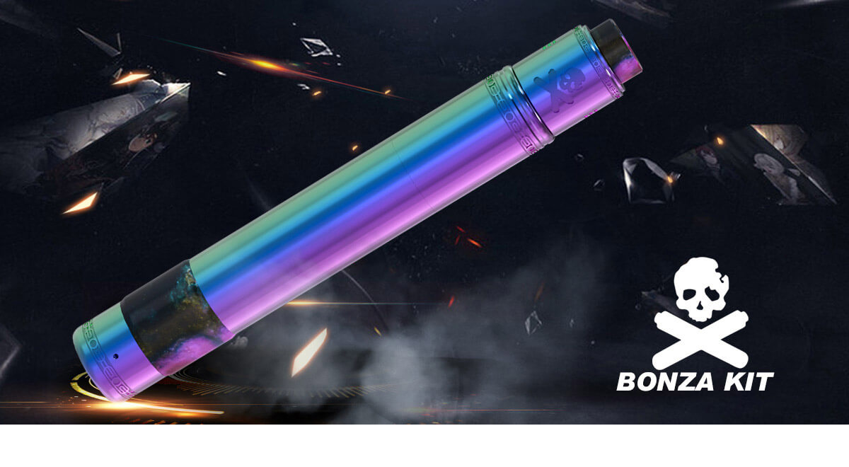 Vandy Vape Bonza Mechanical Mod Kit Real Shots