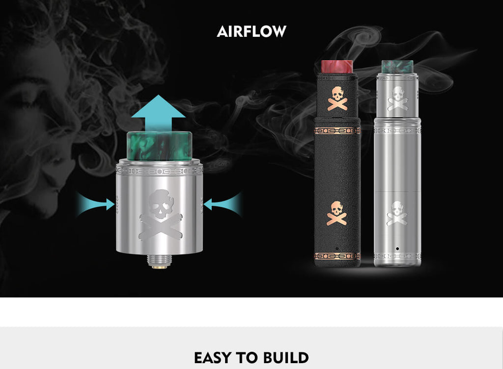Vandy Vape Bonza Mechanical Mod Kit Airflow