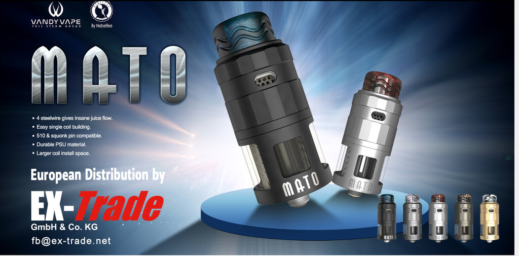 Vandy Vape Mato DL RDTA 24mm 5ml