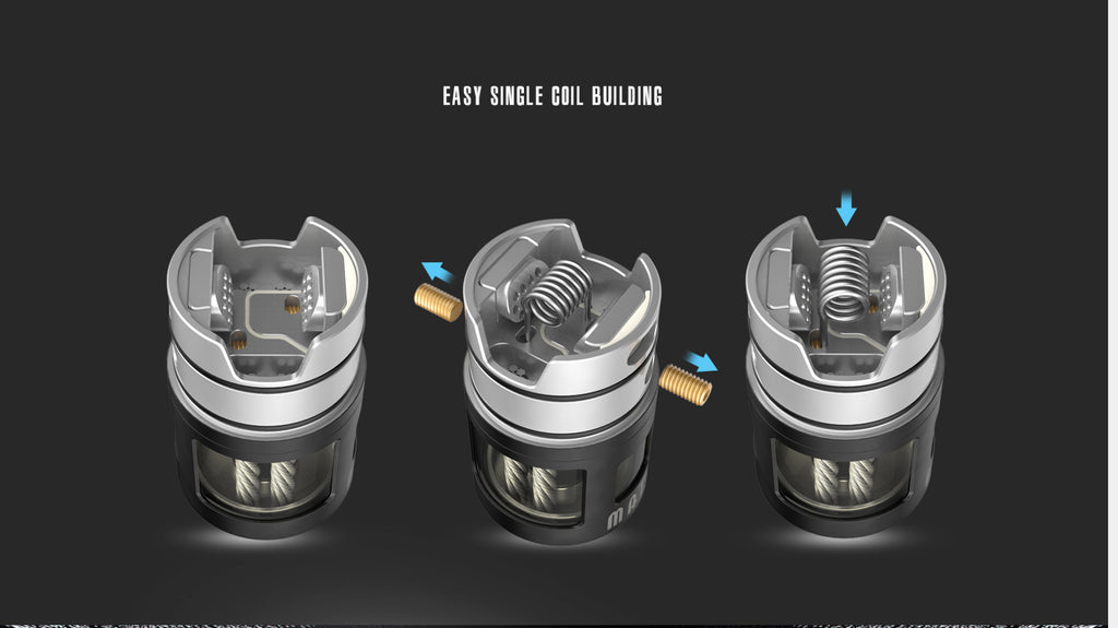 Vandy Vape Mato DL RDTA 24mm 5ml Coil Building Step