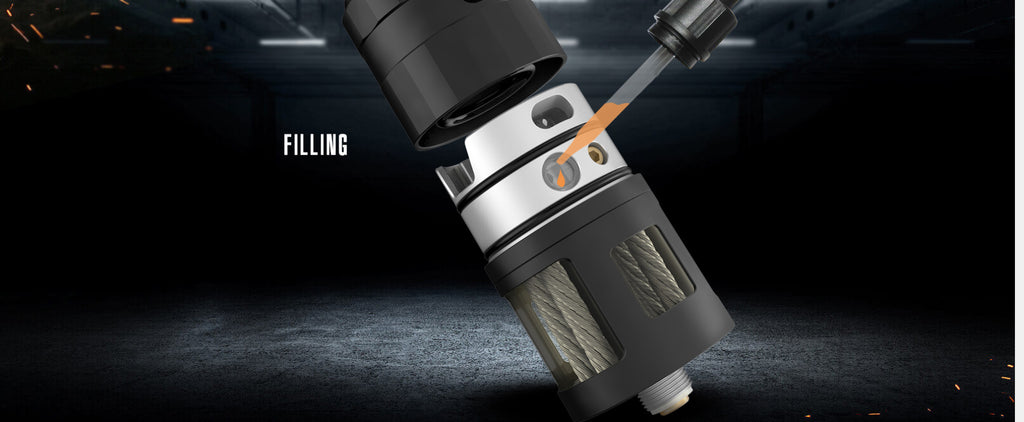 Vandy Vape Mato DL RDTA 24mm 5ml Filling ijk