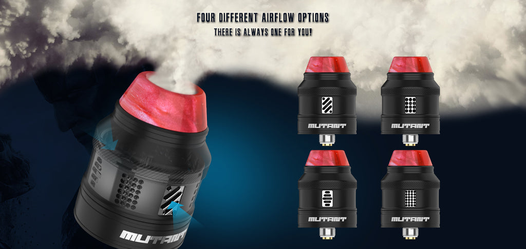 Vandy Vape Mutant RDA 4 Different Airflow Options